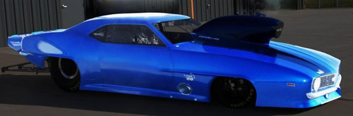 1969 Chevy Camaro, Fiberglass