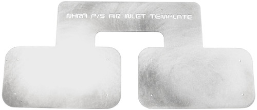NHRA Pro Stock K&N Air Inlet Template