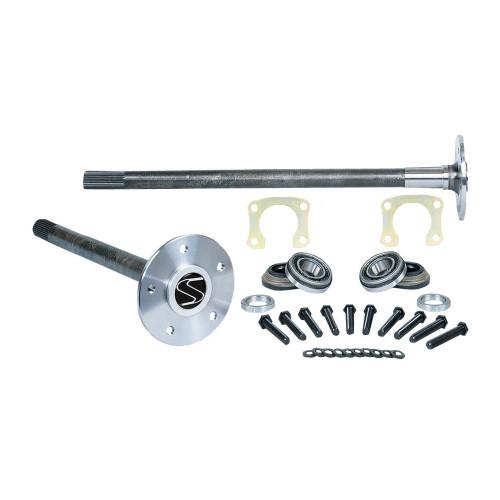 Strange Engineering P3104 28-31 Spline Alloy Axle Package with Axle Bearings, Retainer Plates & Wheel Studs
