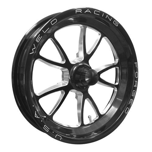 """Weld Racing Full Throttle, 15"""" x 3.5"""", Strange, 1.75"""" BS, Black"""