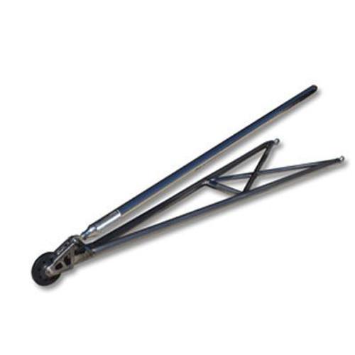"""75"""" Extreme Pro Series Slim-Line Offset Single Wheelie Bar Kit, Titanium"""