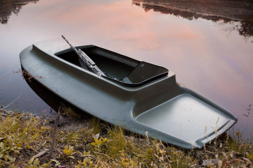 Pirouge Green Duck Buster Layout Boat. Representative Image: Product images may differ from actual product appearance.