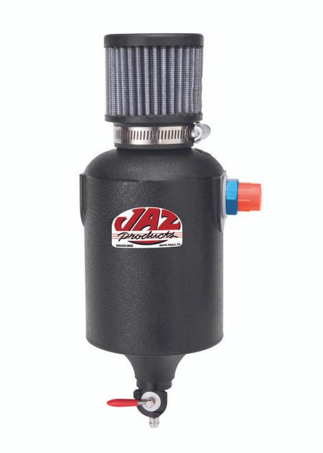 JAZ Products 1 Quart Breather Tank, Black, AN-8 Fitting