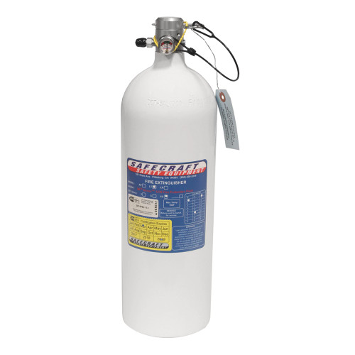 10 Lb Replacement Bottle, 3M Novec 1230 Fire Protection Fluid & Pull Cable