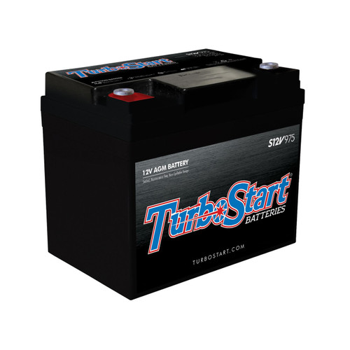 "12 Volt AGM Race Battery, 7.85"" L x 5.38"" W x 6.70"" H"