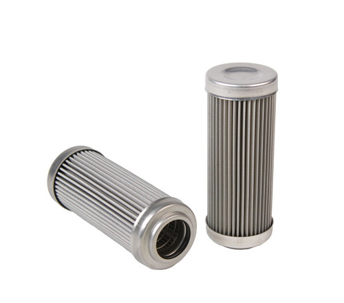 """Replacement Element, 100-m Stainless Mesh Element, Fits All 2-1/2"""" OD Filter Housings"""