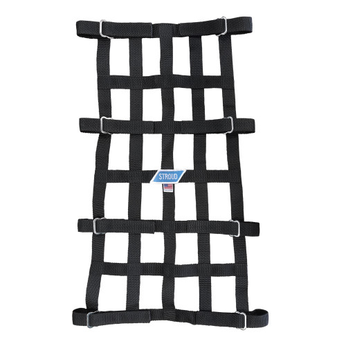 "Custom Wheelie Bar Net with Velcro Straps, 24"" x 14-1/2"" x 24"" x 17-1/2"""
