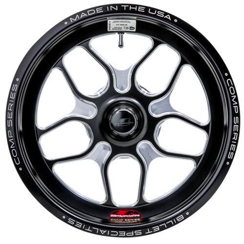 """Billet Specialties Comp 7, 15"""" x 3.5"""", Strange GT/Santhuff, 1.75"""" BS, Black"""