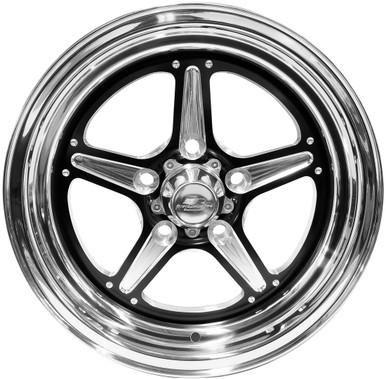 Billet Specialties Street Lite Black Wheels Quarter Max