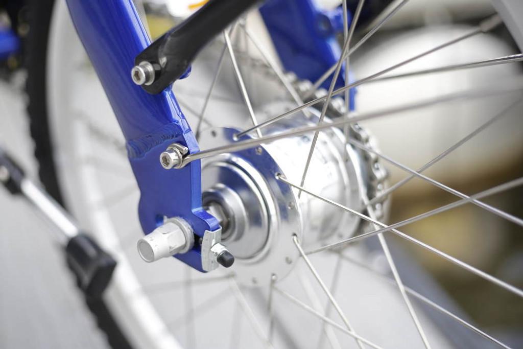 8C folding bike rear Sturmey Archer hub