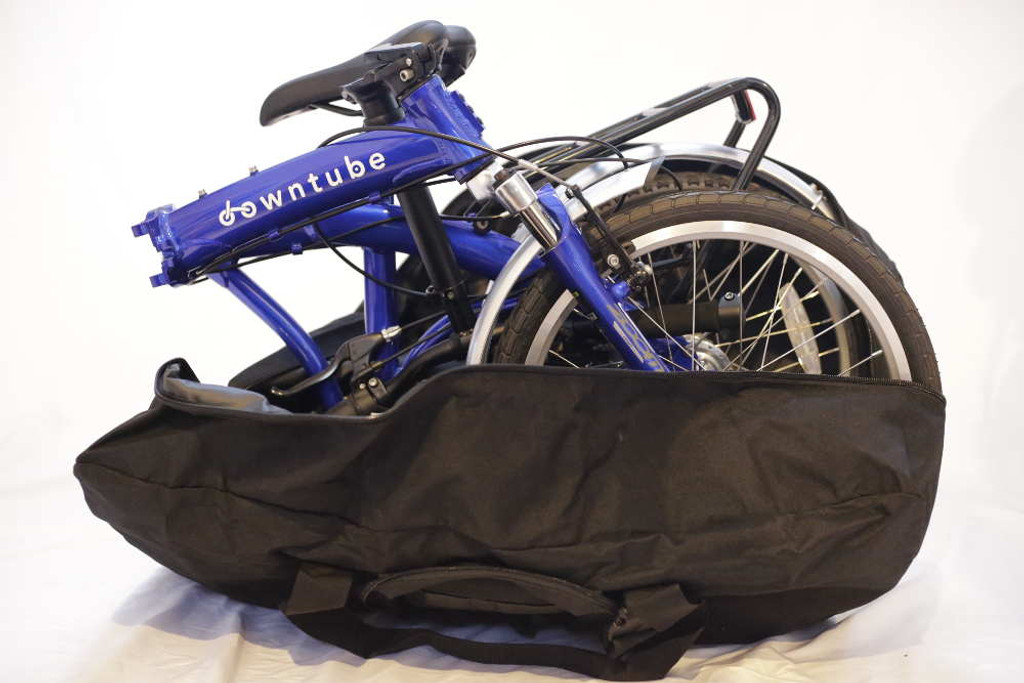 Bike with bag
