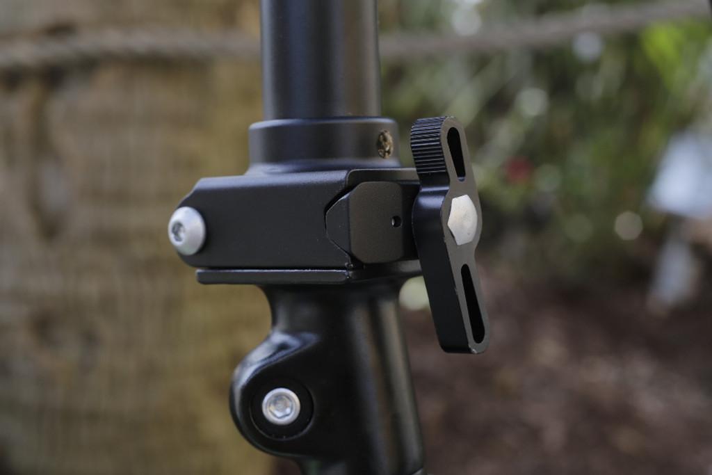 mini folding bike stem qr