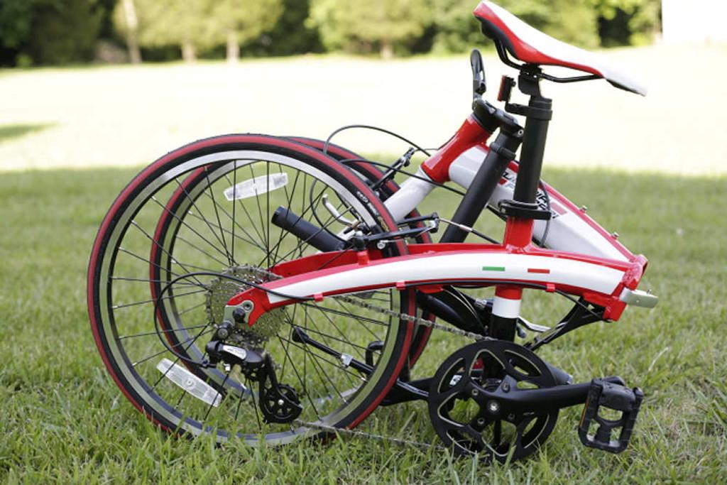 Ferrai bike folded
