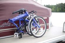 8C folding bike folded