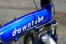 8C Blue Folding Bike Logo