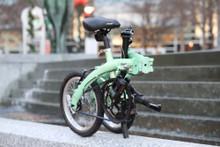 mini folding bike waterfall