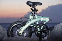 mini folding bike water