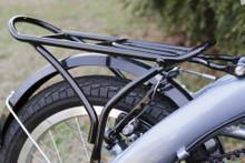 mini folding bike silver seat stay