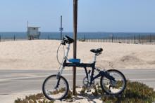 8FS Blue at the beach