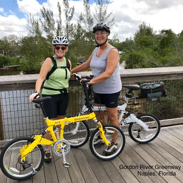 9FS folding bikes in Florida