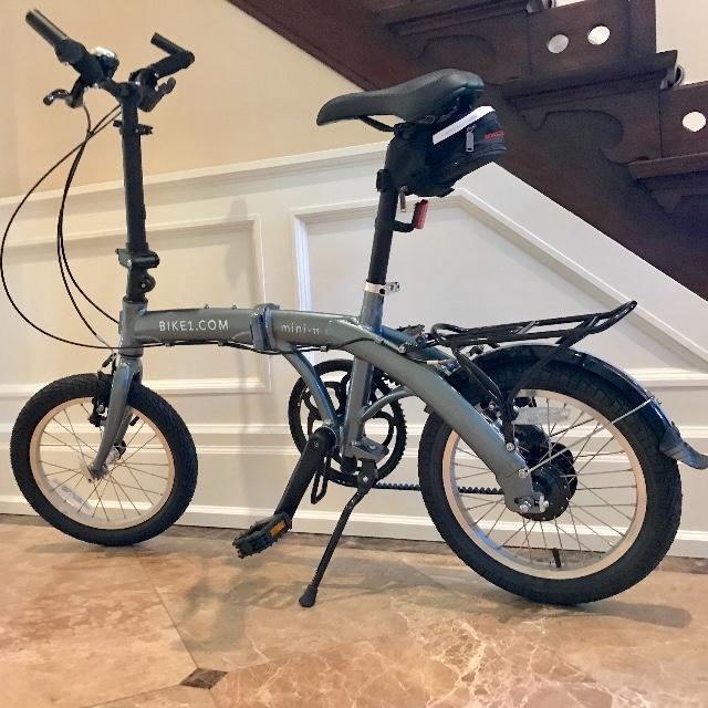 mini belt drive 11sp folding bike