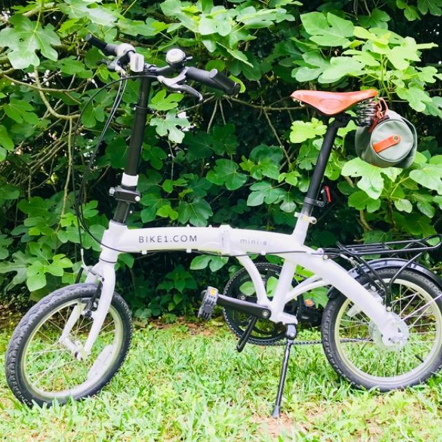 Compact folding bike in Florida
