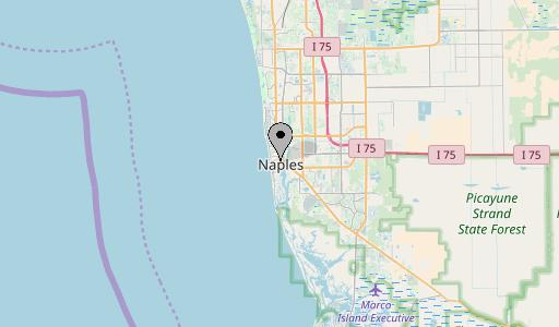 Naples map