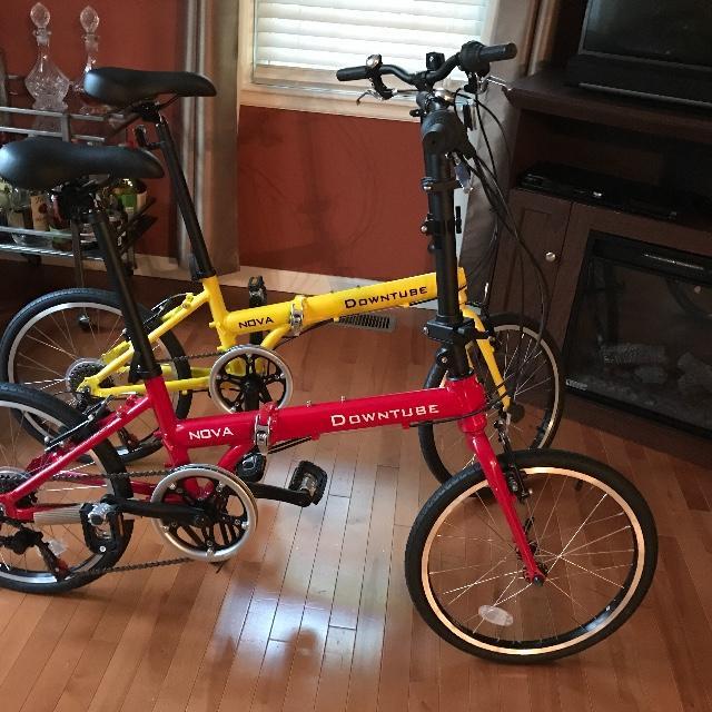 Nova folding bikes