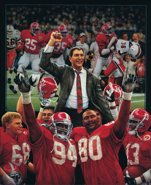 The Tradition Continues - Collegiate Classic 8x10 - Alabama Football 1992 National Champions