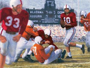 Iron Bowl 1953 - Alabama Football vs. Auburn