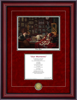 "Print-Poem - ""Crimson Legacy"" - Alabama Football"