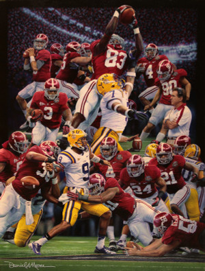 Restoring the Order - Collegiate Classic 8x10 - Alabama Football 2011 National Champions