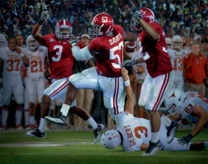 The Pick Six - Collegiate Classic 8x10 - Alabama Football 2009 National Champions