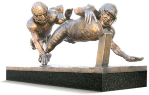 Finish! - Medium, Bronze Cast - Alabama Football 2015 National Champions (Kenyan Drake)