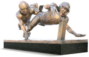 Finish! - Life-Size - Bronze Cast - Alabama Football 2015 National Champions (Kenyan Drake)
