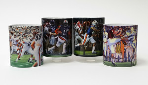 Auburn Football Mug Collection #1