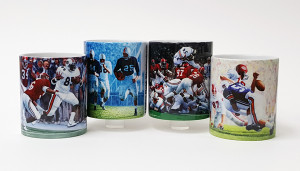 Auburn Football Mug Collection #2