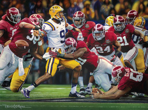 """The Shutout"" - Canvas Editions - Alabama Football 2011 National Champions"