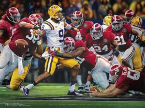 """The Shutout"" - Canvas Editions - Alabama Football 2011 National Champions"
