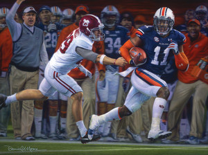 Auburn Football Collegiate Classic (8x10) Prints