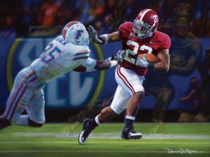 The Heisman Spirit - Canvas Editions - Alabama Football 2009 SEC Champions (Mark Ingram)