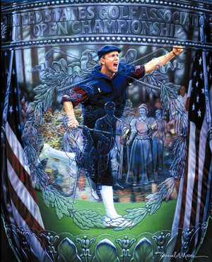 """""""Reflections of a Champion"""" - 1999 U.S. Open Champion (Payne Stewart) - SOLD OUT!"""