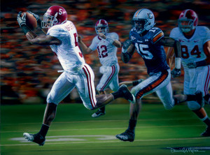 The Drive - Collegiate Classic 8x10 - Alabama Football vs. Auburn 2009