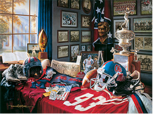 """Ole Miss Legacy"" by Daniel A. Moore — 100 years of Ole Miss football"