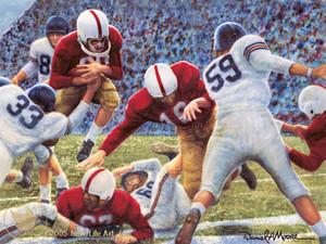 Iron Bowl 1951 - Alabama Football vs. Auburn