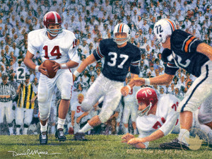 Iron Bowl 1965 - Alabama Football vs. Auburn