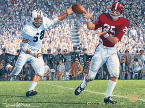 Iron Bowl 1966 - Alabama Football vs. Auburn
