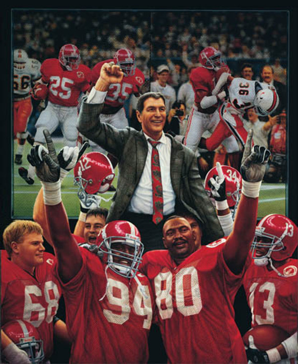 """""""The Tradition Continues"""" - Collegiate Classic 8x10 - Alabama Football 1992 National Champions"""