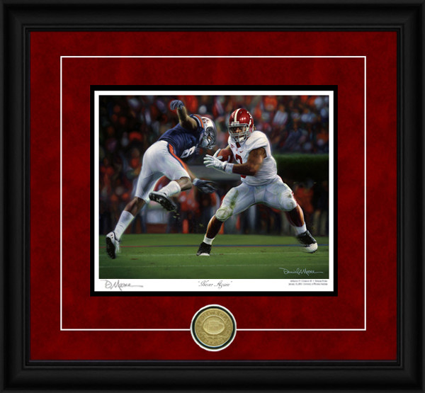Never Again - Collegiate Classic 8x10 - Alabama Football vs. Auburn 2011 (Trent Richardson)