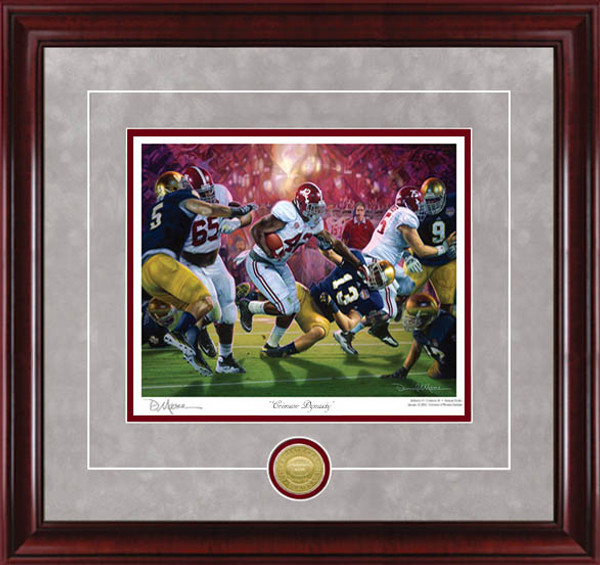 Crimson Dynasty - Collegiate Classics 8x10 - Alabama Football 2012 National Champions